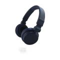 black custom headphone