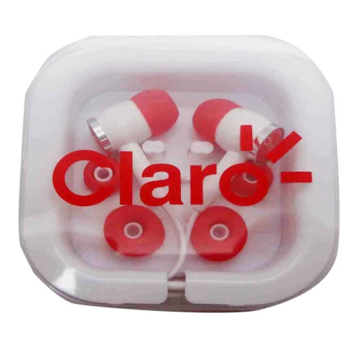 Earbuds lightning - retractable earbuds pink