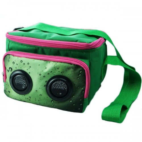 2 speaker mp3 cooler bag