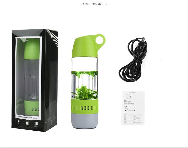 Portable Dog Water Bottle >> Wireless 3.0 Blueooth Speaker Water Bottle with TF Card ...