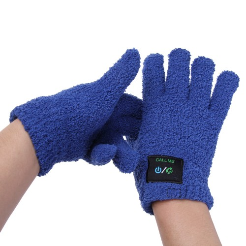 bluetooth phone glove