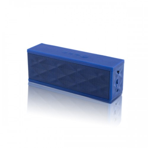 blue bluetooth speaker
