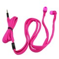 pink shoelace earbuds