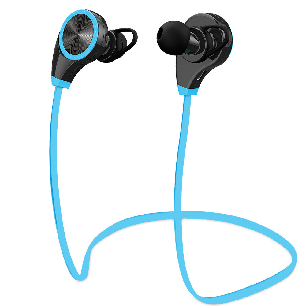 wireless sports headphones sweatproof for running gym. Black Bedroom Furniture Sets. Home Design Ideas