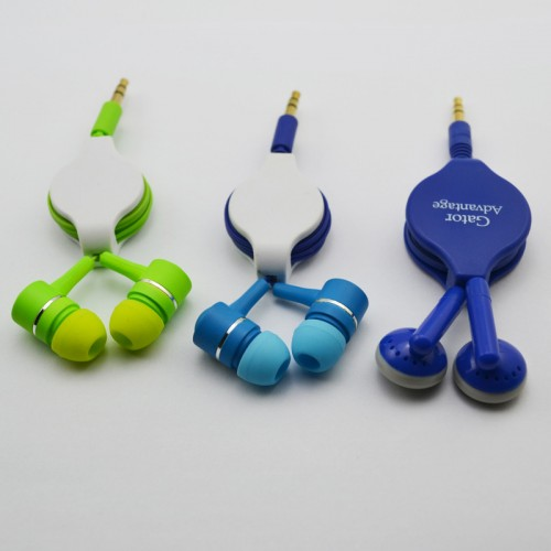 colored earbuds