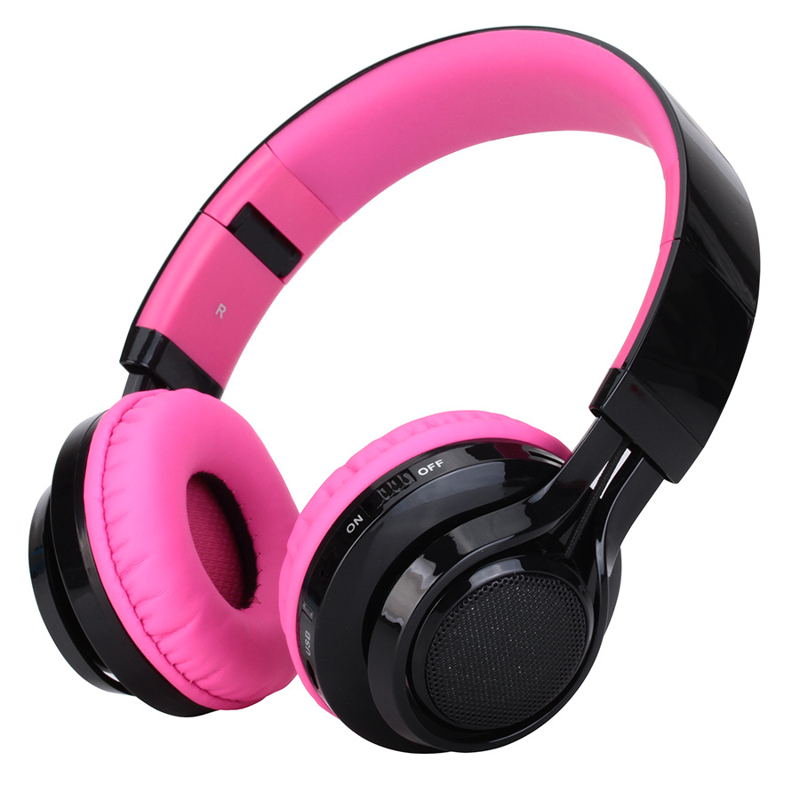 Wireless Bluetooth Headphone With Built In Mic For