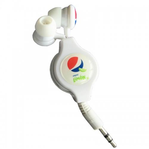 retractable earbud