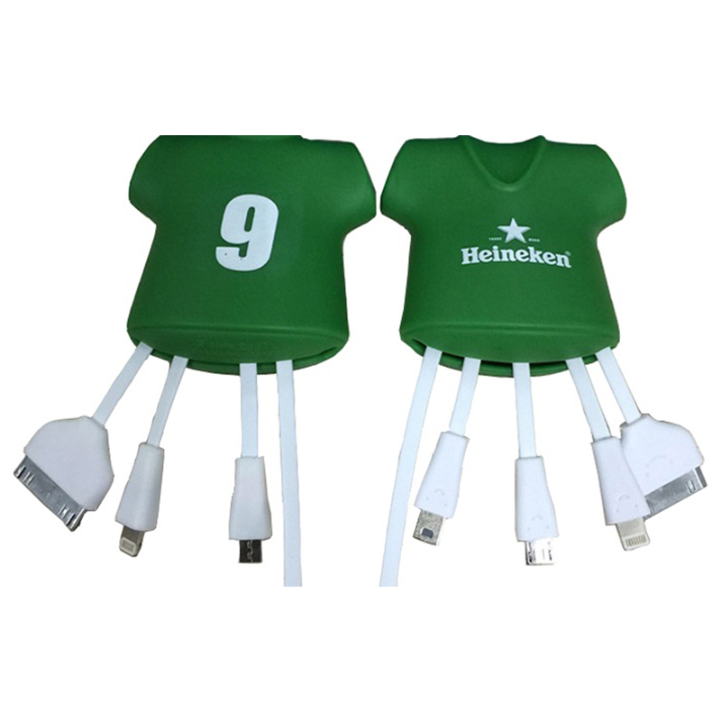 Sports 3 In 1 Multi Functions Usb Charger For World Cup