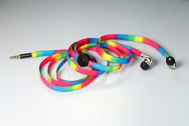 lanyard printed earbud