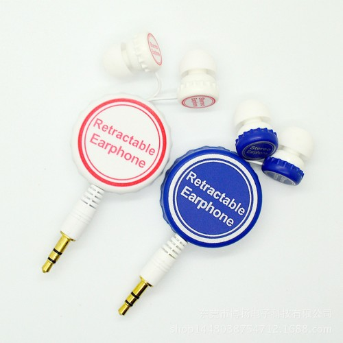 gift retractable earbuds