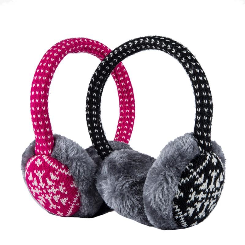 China Winter Headphone Ear Warmers Headphones Music With