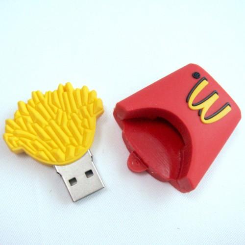 custom pvc flash drive