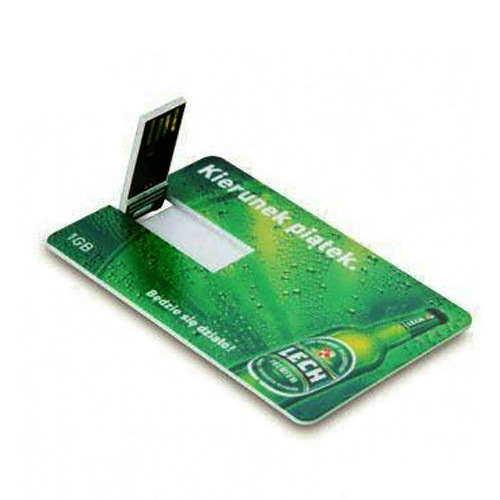 Credit Card Style Usb 2 0 Flash Drive With Full Print
