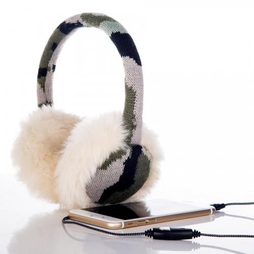 winter earmuff headphones