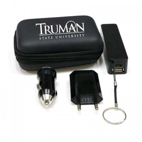 Cell Phone Power Bank Travel Charging Gift Set