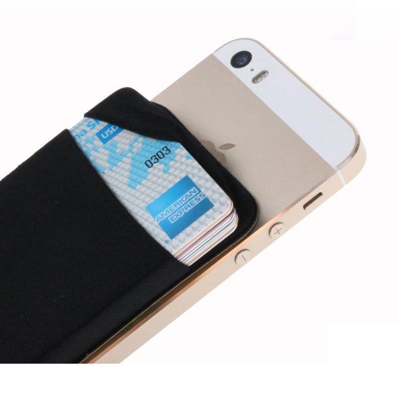 Lycra Spandex Card Sleeves With Secure Holder Stick For Phone