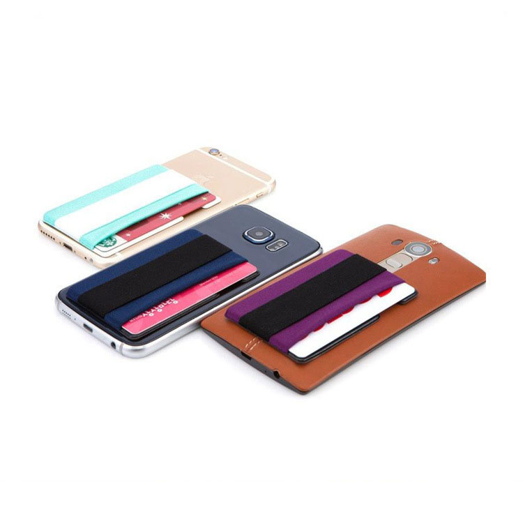 innovative design b520a 37786 Wallet Card Holder with Hand Strap for Smartphones