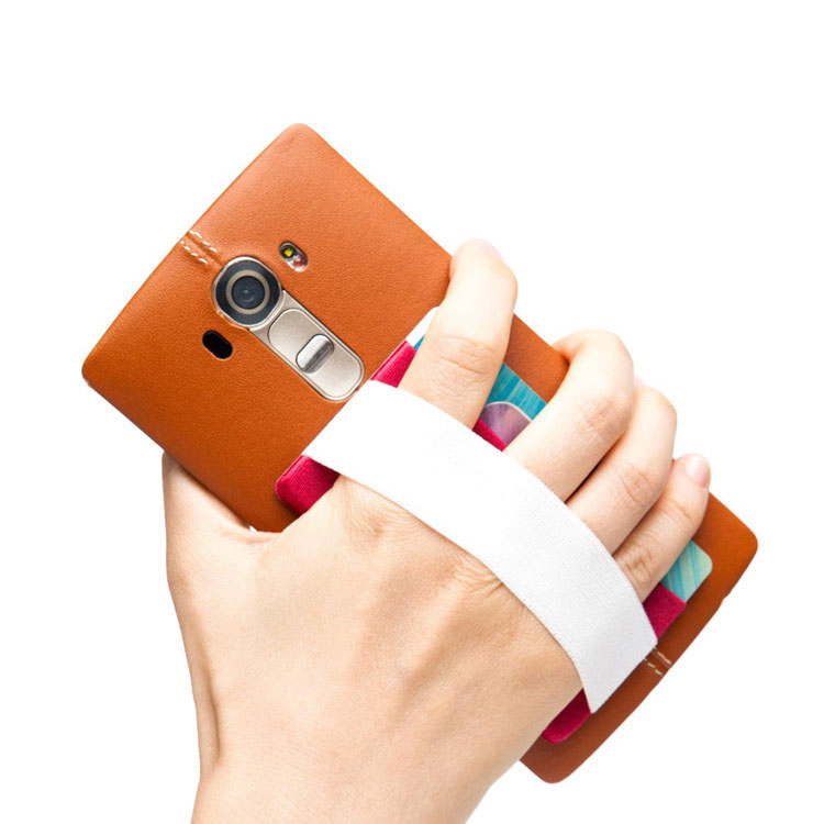 Wallet Card Holder With Hand Strap For Smartphones Sofones
