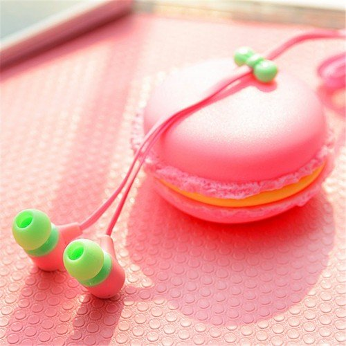 Macaron Earphone Headset