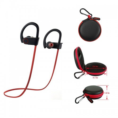 bluetooth wireless sports earphones