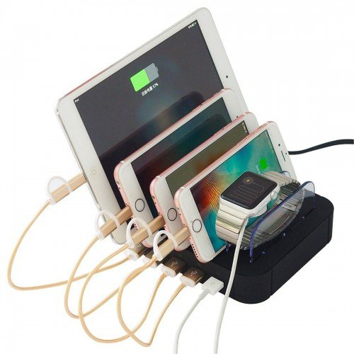 phone charging station 5 port
