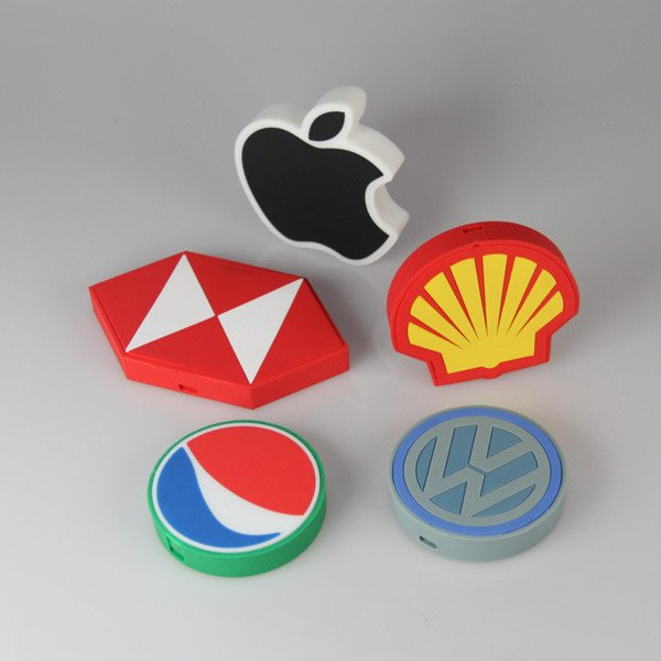 Wireless Charging Pad with Logo Shape