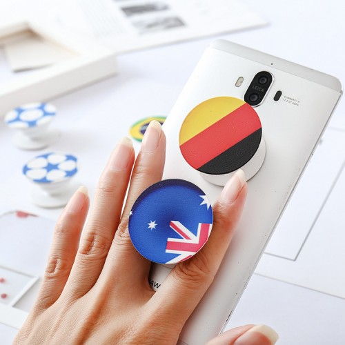 custom pop socket with world cup country flags