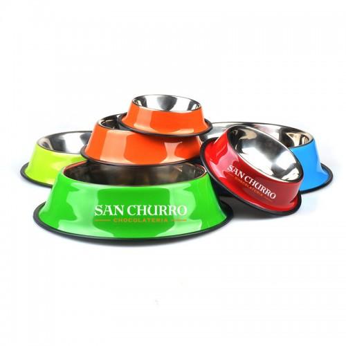 custom stainless dog bowl