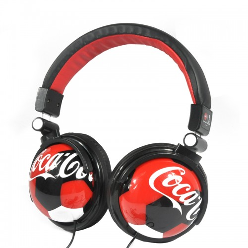 Logo football headphone